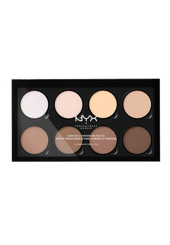 NYX Professional Makeup multi NYX Professional Makeup Highlight & Contour Pro Palette 46873BE0F8F1DFGS_1