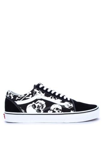 8033c3d771 Shop VANS Skulls Old Skool Sneakers Online on ZALORA Philippines