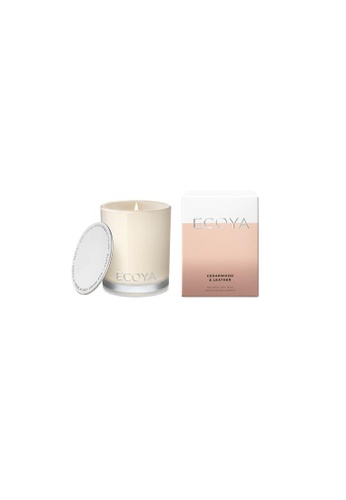 Ecoya Ecoya Cedarwood & Leather Mini Madison Candle 1C979HL2316150GS_1