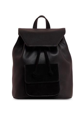 Pop & Suki black Casual Backpack 389EBAC67F7B13GS_1