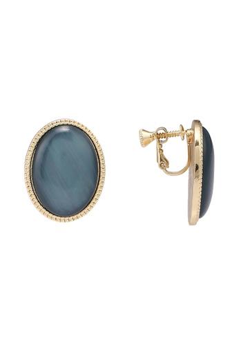 niko and ... blue Acrylic Earrings 3536DAC03F3A2DGS_1