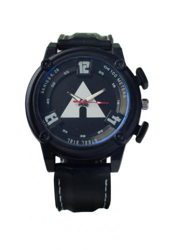 Stylebox black and blue 1065 New   Silicon Strap Watch C8BE8AC3A44C10GS_1