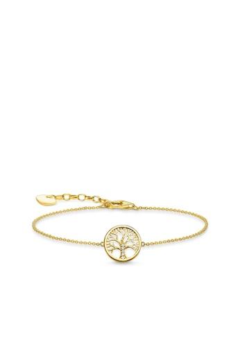 "THOMAS SABO gold Bracelet ""Tree of Love"" 8C822ACFAC2042GS_1"