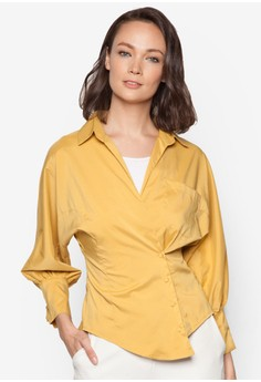 Front Overlap One Pocket Shirt