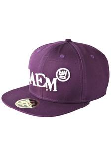 2c1420d61bb Shop Chronomart Baem Korea White Logo Snapback Black Baseball Cap ...