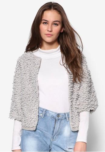 時尚針織開襟外套, zalora 順豐服飾, 毛衣& 針織外套