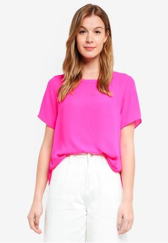 Banana Republic pink High Low Hem Top C84B0AA685319EGS_1