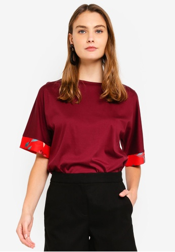 bb4dc18d126df Buy ESPRIT Short Sleeve Blouse Online on ZALORA Singapore