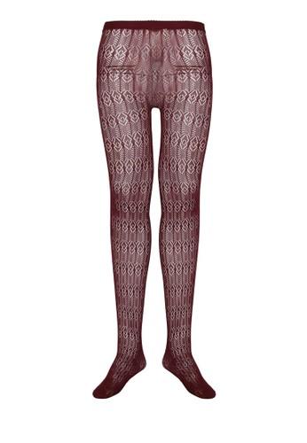 鑽石形鉤esprit高雄門市花蕾絲褲襪, 服飾, 襪子