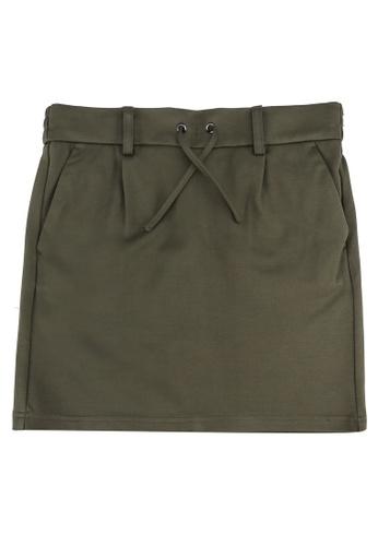 ONLY green Poptrash Skirt DD39BKAC5FECEFGS_1