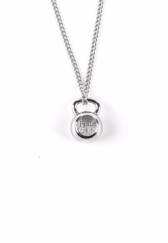 HAPPY FRIDAYS Stylish Fitness Kettlebell Necklace DW0090 61D5AAC40D3AC6GS_1