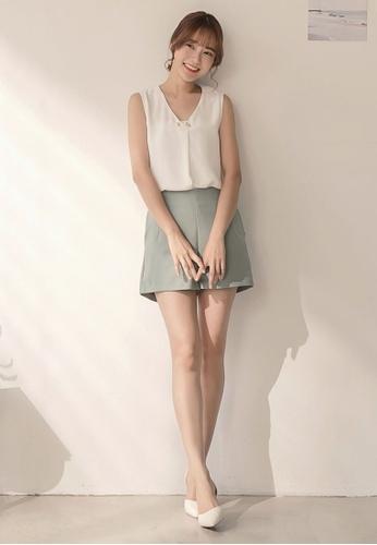 8dd5957f67b86 Buy Tokichoi Chiffon Sleeveless Blouse Online on ZALORA Singapore