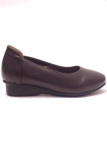 Crystal Korea Fashion brown Korea Comfortable, Breathable Flat Shoes CR681SH67JTOHK_1
