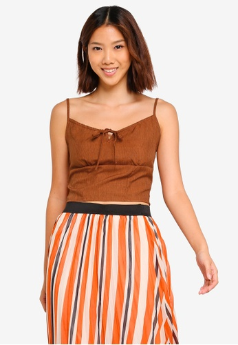 Cotton On brown Taylor Cami CDAD7AA74A2989GS_1