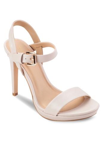 基本款繞踝高跟涼鞋, 女鞋,esprit outlet 桃園 鞋