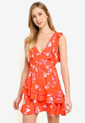 Maaji red Scarlet Rose Short Beach Dress BFD75AAA34135CGS_1