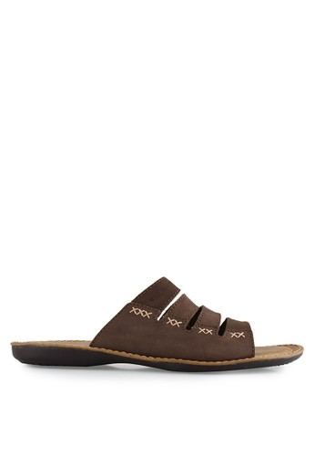 Watchout! Shoes brown Sandal Slipon WA021SH0V7XGID_1