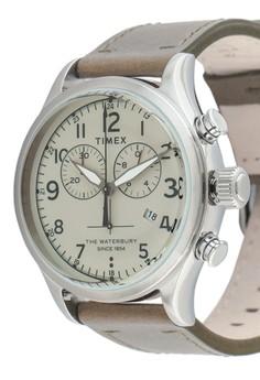 TIMEX Waterbury - Traditional Chronograph - Tw2R70800 Rp 2.590.000. Ukuran  One Size 929e182d82