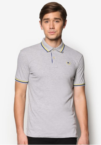 Piping esprit tstPolo Shirt, 服飾, Polo衫