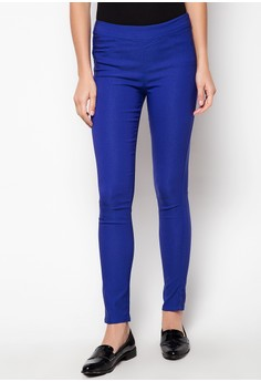 Colored Slip On Pants