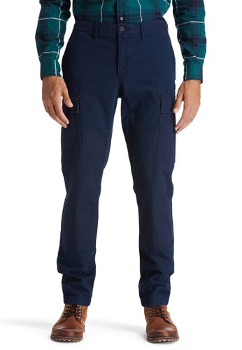 Timberland blue Timberland Men Profile Lake Relaxed Tapered Cargo Pant-TB0A2CZ6433 AC399AA8FF9AE1GS_1