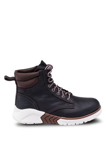 Timberland brown 6 Inch Moc Toe Classic Reimaged Boots 0459BSHD8D0619GS_1