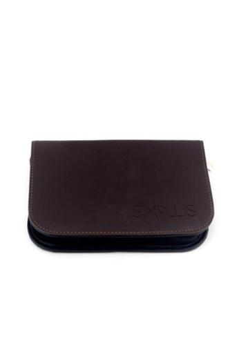 SIXPLUS black SIXPLUS Leather Makeup brush bag 1B955BE2876EB7GS_1