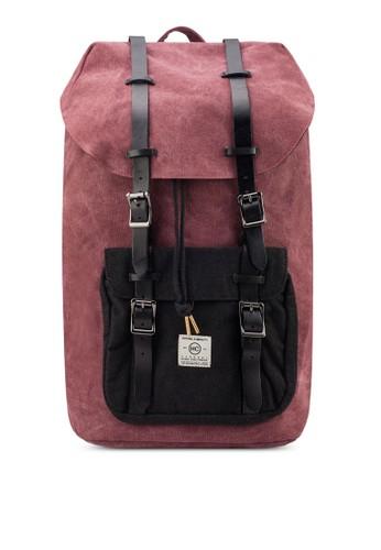中型帆布後背包, 包esprit專櫃, 後背包