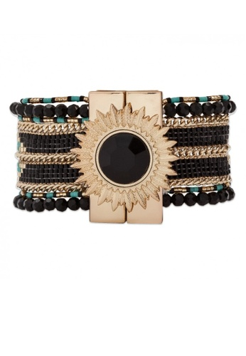 HIPANEMA black and blue and multi and gold Bracelet Eternity black 5993BAC59D50E2GS_1