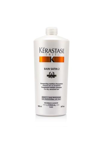 Kérastase KÉRASTASE - Nutritive Bain Satin 2 Exceptional Nutrition Shampoo (For Dry, Sensitised Hair) 1000ml/34oz 36935BEA2731AAGS_1