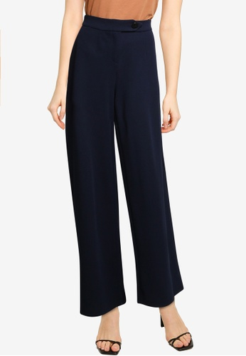 Vero Moda navy Becca High Waist Pants 3105CAA62273A6GS_1