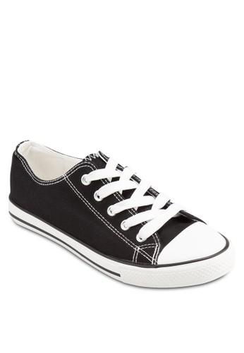 條紋邊飾繫帶運動、 女鞋、 鞋NewLook條紋邊飾繫帶運動最新折價