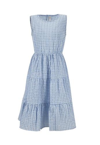 DeFacto blue Girl Dress 289ECKA89CC67FGS_1