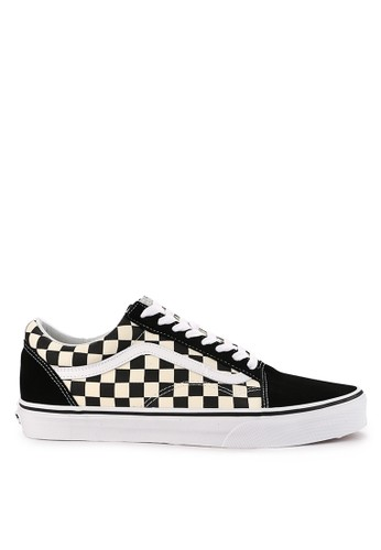 Vans white Ua Old Skool Primary Check 429CBSH7D00EC3GS_1
