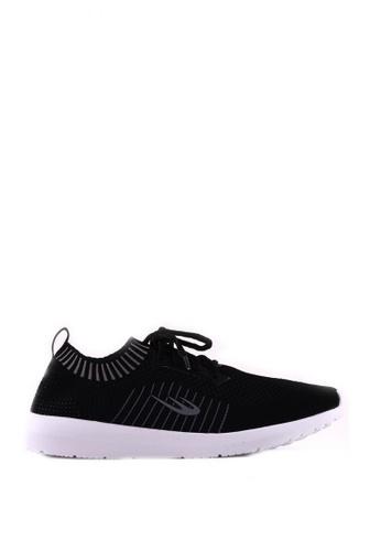 World Balance black Ultra Weave MS Sneakers WO444SH0K2QQPH_1