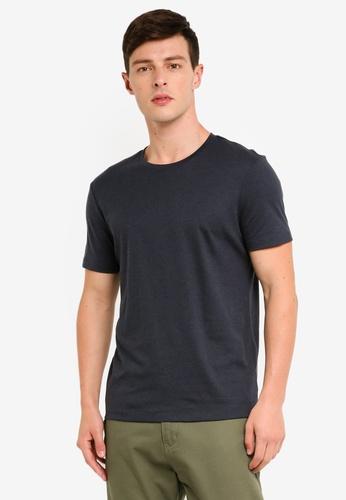 Banana Republic 海軍藍色 素色短袖T恤 22234AA1D79B05GS_1