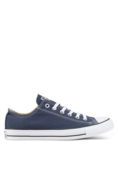 5c230743ebb22 Converse navy Chuck Taylor All Star Core Ox Sneakers AF6A6SH336775FGS 1