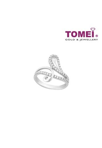 TOMEI white TOMEI Pizzazz in Glittering Splendour Ring, Diamond White Gold 375 (R3291) F1F84AC394C4EDGS_1