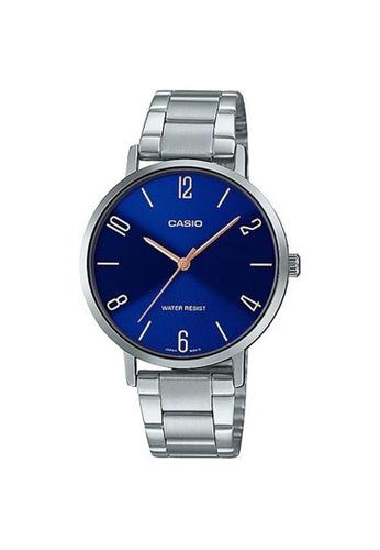 Casio silver Casio Sylish Small Bracelet Watch (LTP-VT01D-2B2) 395DFAC897E161GS_1