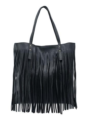 Buy Mango Fringe Leather Bag Online on ZALORA Singapore a508f2ac53