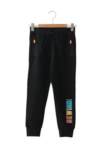 LC Waikiki black Boy Jogger Trousers C1C4BKA198E464GS_1