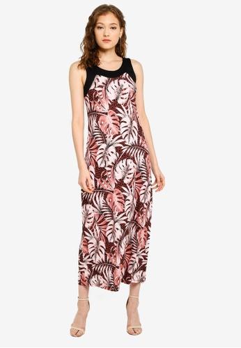 0196672c60c0 Buy Wallis Petite Black Printed Maxi Dress Online on ZALORA Singapore