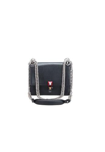 FENDI black Pre-Loved fendi Fendi Mini Kan I in Black 0AAC8ACF24E40FGS_1