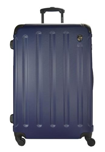 Heys blue Heys Revolver H-10035 Polycarbonate Spinner 20 inch Hard Case Luggage - Cobalt B1EFAAC7D08FC4GS_1
