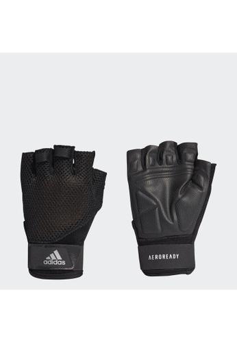 ADIDAS black adidas Training Gloves 625A5AC7114002GS_1