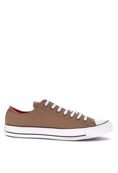 d90722fcde6 Converse beige Chuck Taylor All Stars Seaonal Color Canvas Sneakers  6B07BSH9B41770GS 1