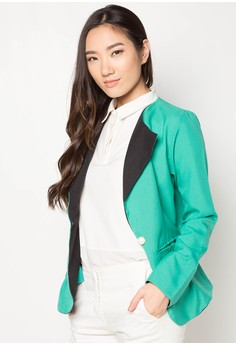 Feechi Two Tone Blazer