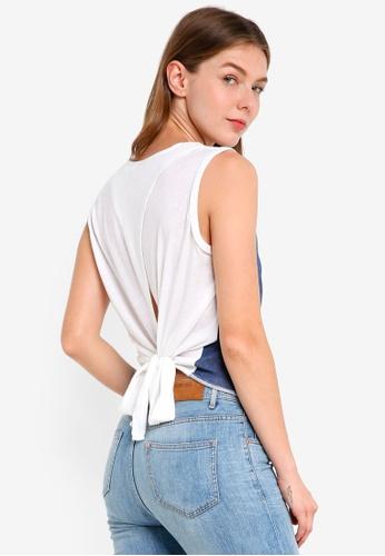 ONLY white Demi Palm Top 1DA3CAAE6545A9GS_1