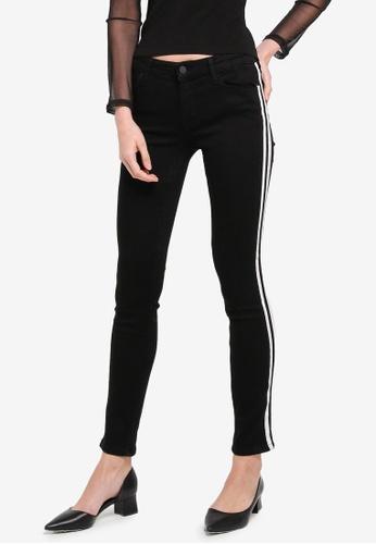 Mango black Contrast Panels Jeans MA193AA0T1D6MY_1