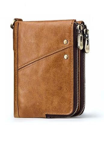 Twenty Eight Shoes Vintage Genuine Leather RFID Security Multifunctional  Wallet BP852 817DEAC89CCBC9GS_1